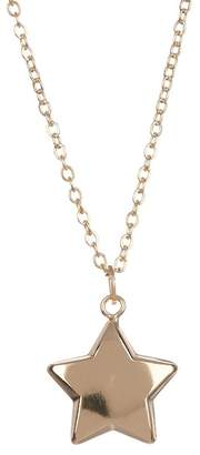 Best Silver Inc. 14K Yellow Gold Star Pendant Necklace