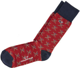 Vineyard Vines Crossed Skis Icon Socks