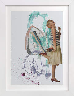 Hoopla Art Print
