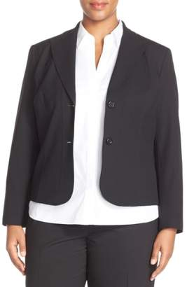 Lafayette 148 New York 'Gladstone' Stretch Wool Jacket