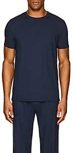 Derek Rose Men's Stretch-Modal Jersey T-Shirt - Blue