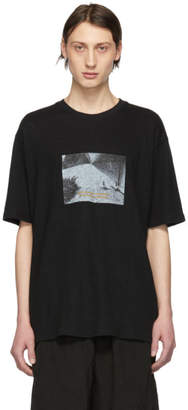 Song For The Mute Black Oversized Pool T-Shirt