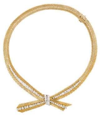 Van Cleef & Arpels Diamond Cheveux d'Ange Collar Necklace