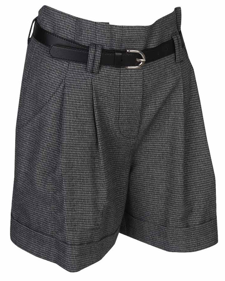 Mini Houndstooth Extended Short
