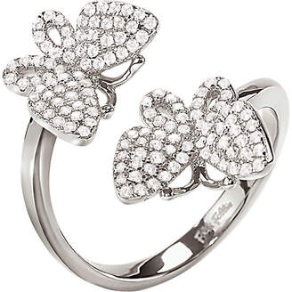 Folli Follie Wonderfly rhodium-plated sterling silver ring