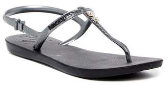 Havaianas Freedom Glamour Crystal Accented Thong Sandal