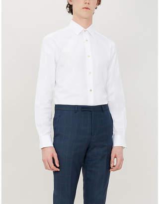 Paul Smith Slim-fit cotton-poplin shirt