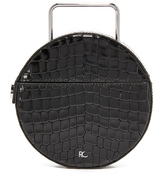 Rachel Comey Croc Embossed Rider Bag $414 thestylecure.com