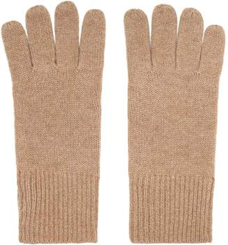 Reiss EMMERSON GLOVES CASHMERE GLOVES Camel