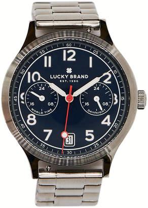 Lucky Brand Men's Jefferson Stainless Steel Bracelet Watch 38mm