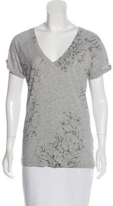 Sanctuary Short Sleeve Floral Print Top w/ Tags