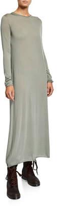 Agnona Cashmere Long-Sleeve Maxi Dress