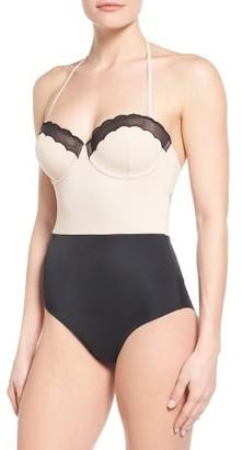 Women's Topshop Scallop One-Piece Swimsuit $60 thestylecure.com