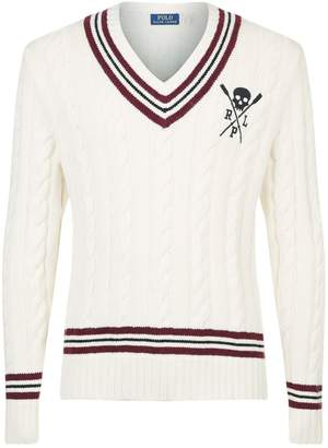Polo Ralph Lauren Embroidered Cricket Sweater