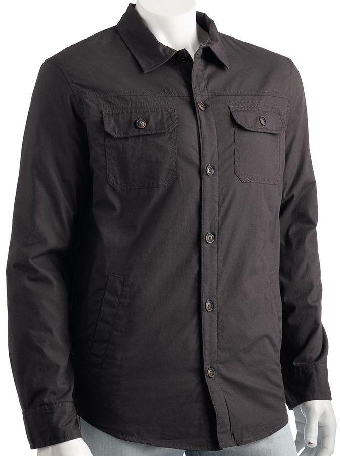Urban pipeline ® quilted shirt jacket - men