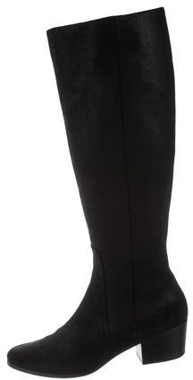Jimmy Choo Jimmy Choo Nubuck Knee-High Boots