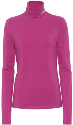 Calvin Klein Stretch-cotton turtleneck top