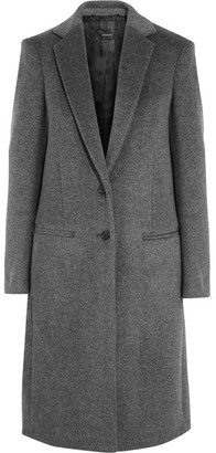 Joseph - Mart Wool And Cashmere-blend Coat - Gray $895 thestylecure.com
