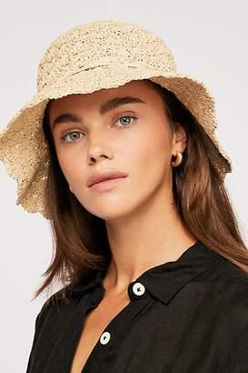 Keke Crochet Straw Bucket Hat