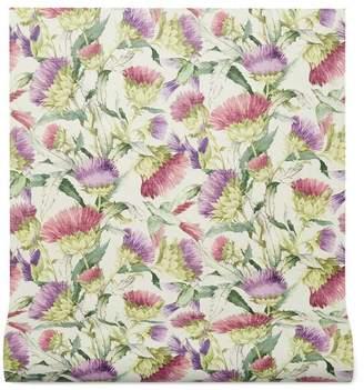 Gucci Thistles and Birds print wallpaper