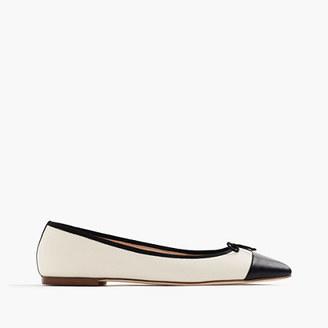 Gemma cap-toe flats $108 thestylecure.com