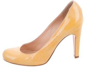 Marc by Marc Jacobs Patent Leather Round-Toe Pumps