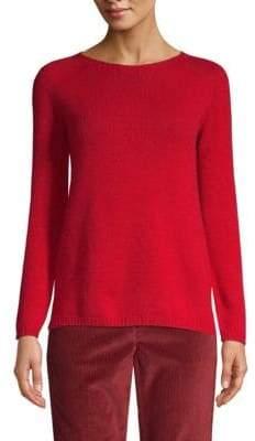 Max Mara 3Giorgi Cashmere Knit Crewneck Sweater