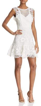 BCBGMAXAZRIA Mixed Lace Dress - 100% Exclusive