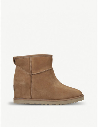 UGG Classic Femme Mini suede boots