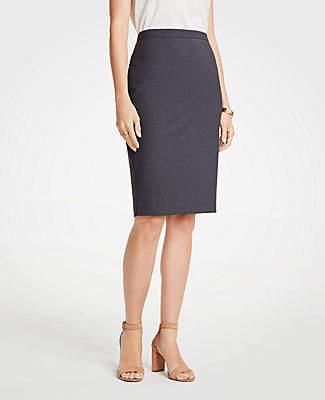 487ad9b956 Ann Taylor Petite Tropical Wool Pencil Skirt