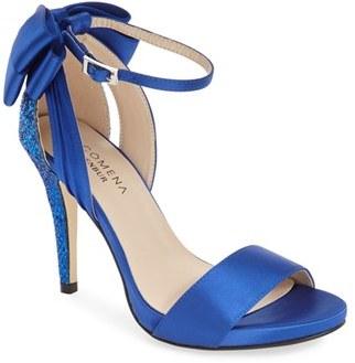 Women's Menbur 'Clarin' Bow Ankle Strap Sandal $117 thestylecure.com