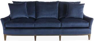 Massoud Furniture McCord Sofa - Midnight Velvet