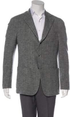 Pal Zileri Wool Herringbone Sport Coat grey Wool Herringbone Sport Coat