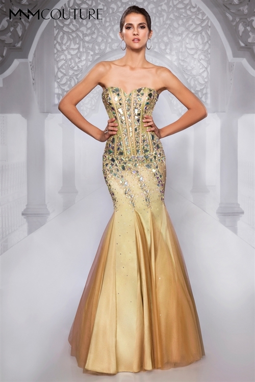 MNM COUTURE - 9238 in Gold