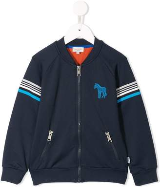 Paul Smith horse zip front sweatshirt