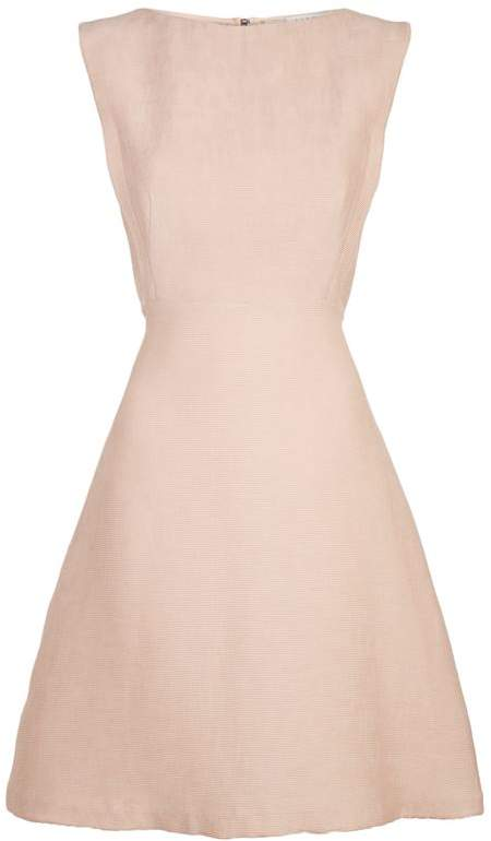 Lace Back Mini Dress