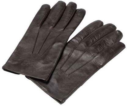 Harrods Silk Lined Leather Gloves