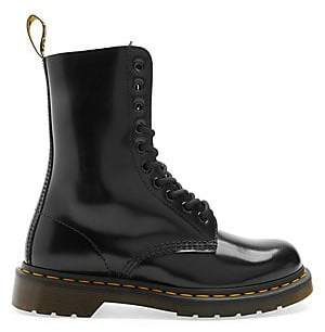 Marc Jacobs Women's Dr. Martens x Leather Lace-Up Boots