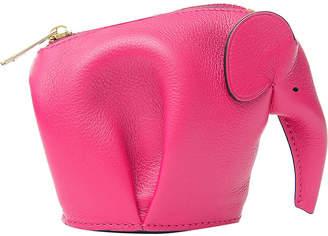 Loewe Elephant leather coin purse