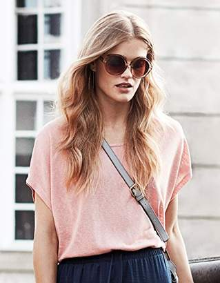 Vila CLOTHES Women's Visumi S/s Top-noos T-Shirt, Pink Bridal Rose, (Size: )