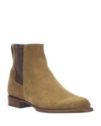 Lucchese Men's Grayson Suede Chelsea Boots