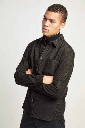 French Connenction Overdyed Mini Check Corduroy Shirt