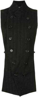Ann Demeulemeester double breasted waistcoat jacket