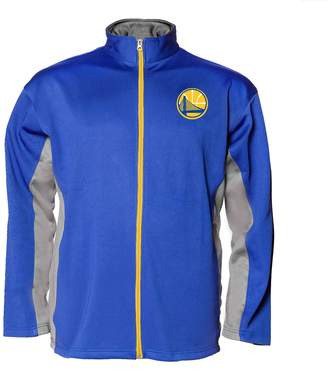 Majestic Big & Tall Golden State Warriors Full-Zip Fleece Jacket