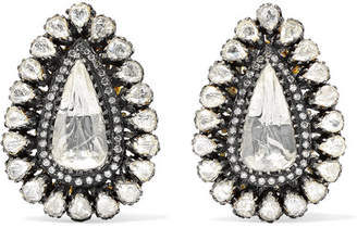 Amrapali 18-karat Gold Diamond Earrings