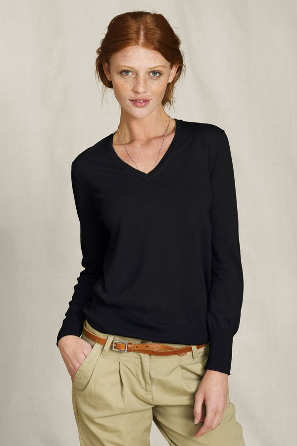 Women's Essential V-neck Sweater
