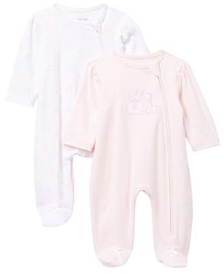 Little Me Safari Footie - Pack of 2 (Baby Girls)