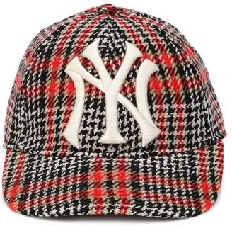 Gucci NY Yankees houndstooth baseball cap