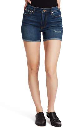Ella Moss Cuffed Cutoff Denim Shorts