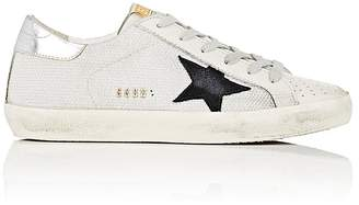 Golden Goose Women's Superstar Leather & Mesh Sneakers $480 thestylecure.com